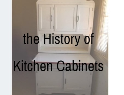 The History of Kitchen Cabinets